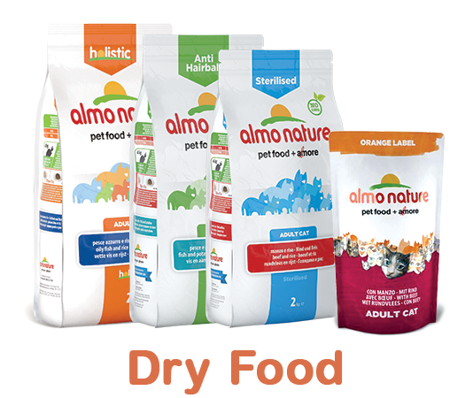 Almo Nature Cat Dry Label