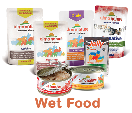 Almo Nature Cat Wet Label