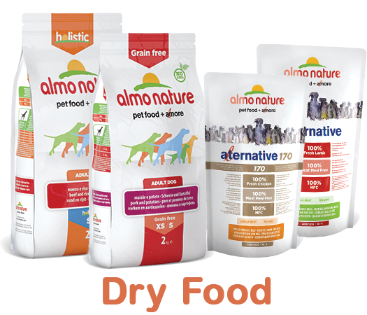 Almo Nature Dog Dry Label