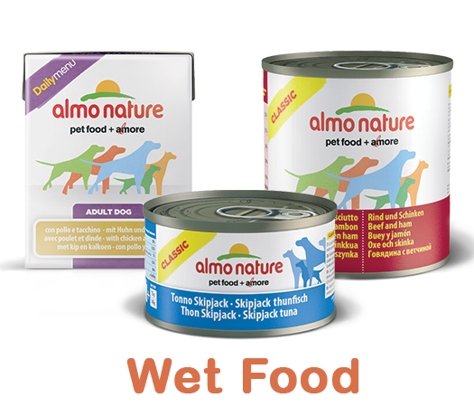 Almo Nature Dog Wet Label