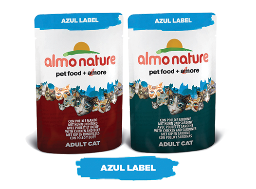 Almo Nature Cat Wet Azul Legend