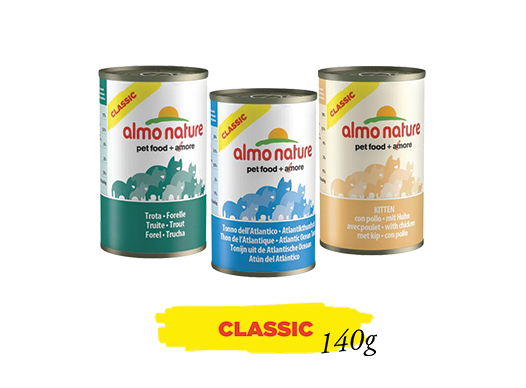 Almo Nature Cat Wet Classic Label