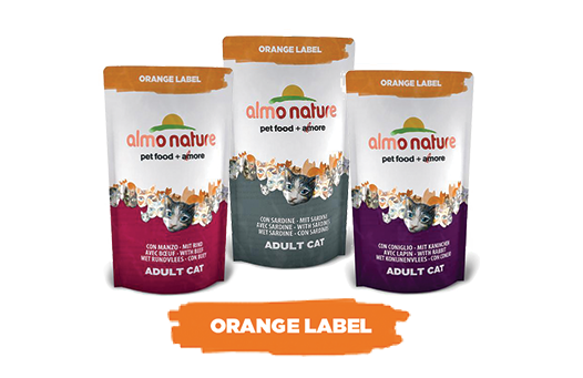 Almo Nature Cat Dry Orange Label
