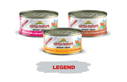 Almo Nature Cat Wet Legend Label