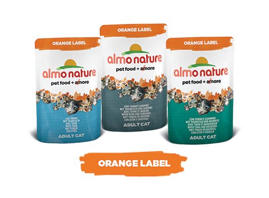 Almo Nature Cat Wet Orange Label