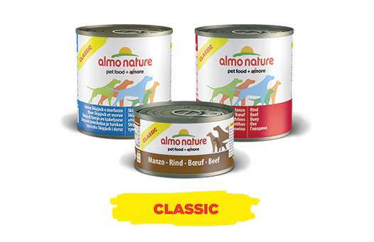 Almo Nature Dog Wet Classic Label