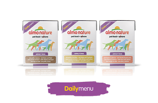 Almo Nature Dog Wet dailymenu Label