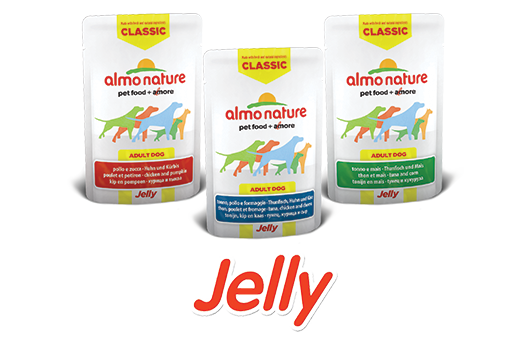 Almo Nature Dog Wet jelly Label